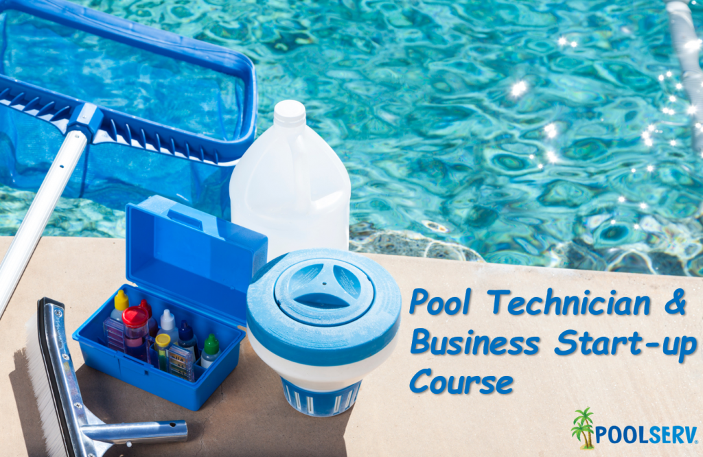 Learn to be a Pool Technician & Start Up Your Own Pool Service Business.